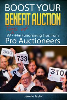 Boost Your Benefit Auction Book Cover